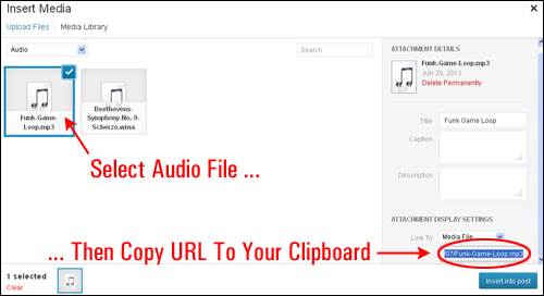 how to add wordpress files to new droplet