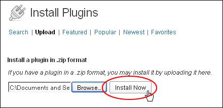 Installing WordPress Plugins