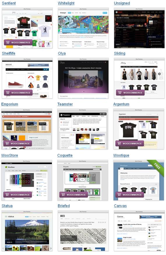 WooThemes - Premium WordPress Themes