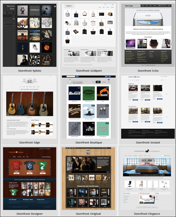 StoreFront - WordPress Premium Themes
