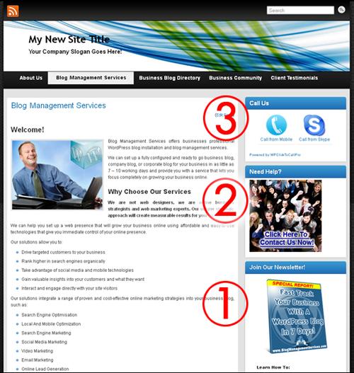 Using WordPress Widgets